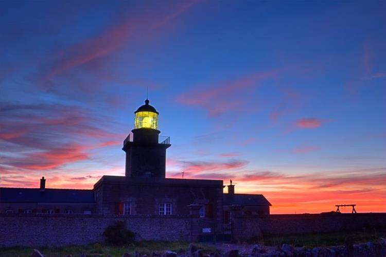 Visite nocturne du phare de Carteret