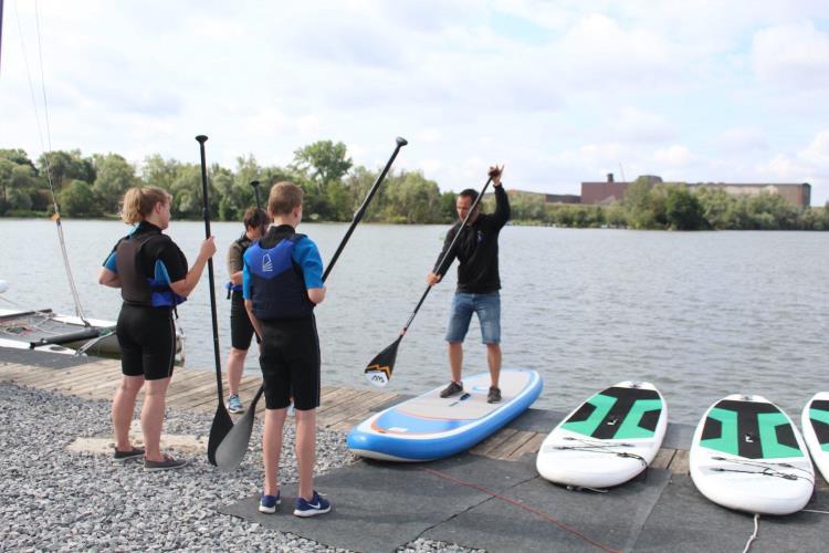 Prendre le large sur l'étang du Vignoble - Initiation au paddle