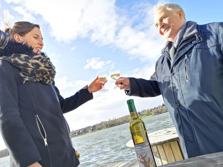 « Apéro Embarqué »  Dégustation insolite et découverte du site du vignoble à Valenciennes