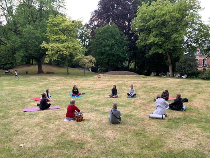 « Yogarden » - Yog'art aux jardins de la Rhonêlle et  des Prix De Rome