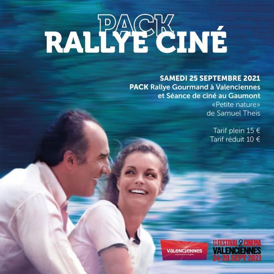 """Pack Rallye Gourmand + Séance film Festival 2 cinéma - """"Petite nature"""" - Samedi 25 septembre 2021"""