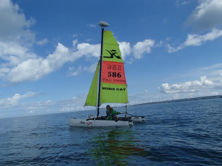 STAGE 5 séances catamaran  CATSY (7/10 ans)