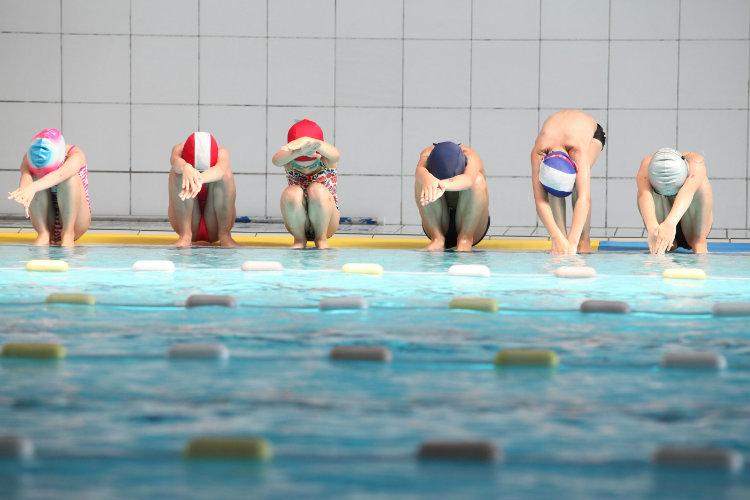 Stage natation 5/6 ans débutant Noël 2017