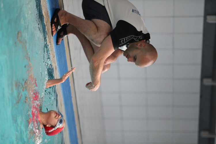 Stage natation 4 ans débutant Hiver