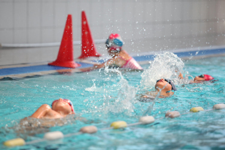 Stage natation 5/6 ans perf Toussaint 2018