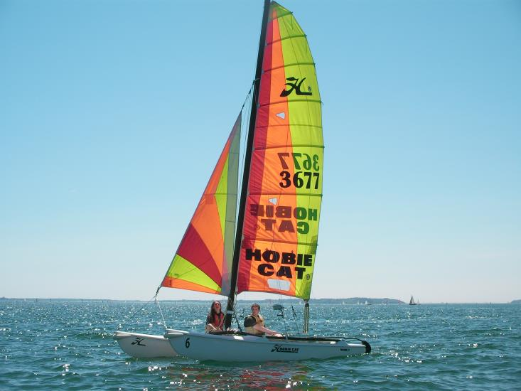 Point Location/ 1H de catamaran HC15