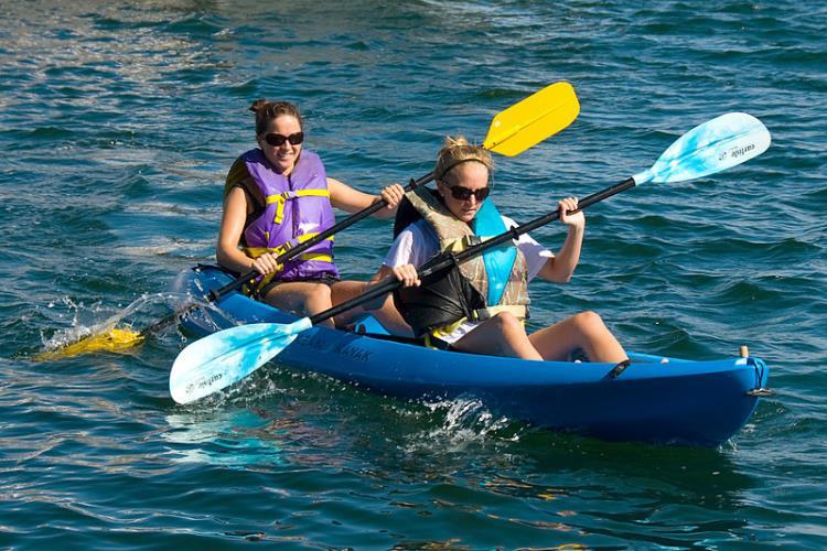 Point Location/ 1H de kayak