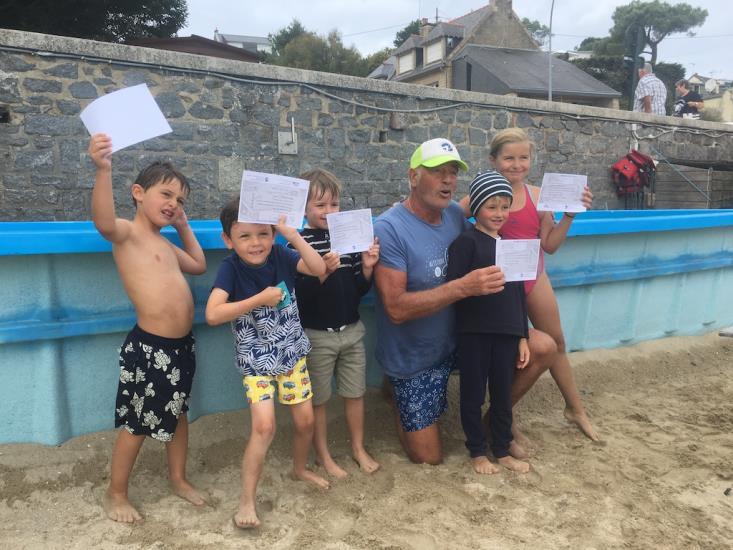 Cours De Natation à Port Mer Cancale