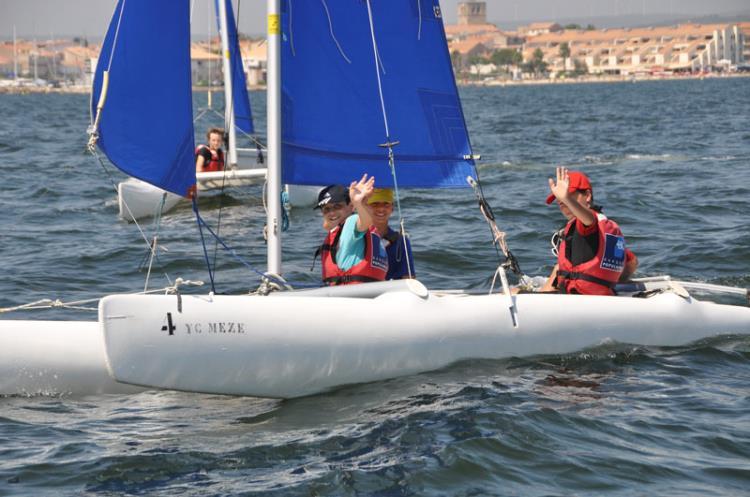 Stage catamaran Junior 3h