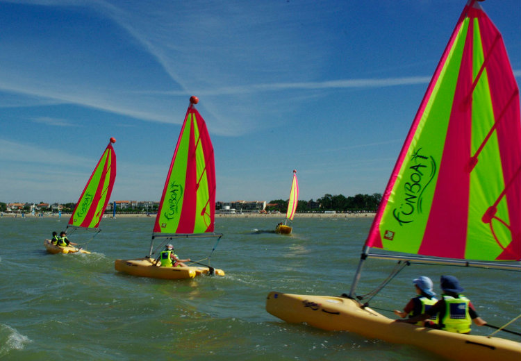 Stage toussaint 2019 fun boat 8/12 ans