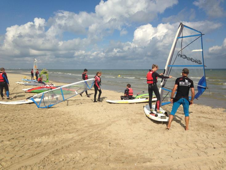 PLANCHE A VOILE DUNKERQUE