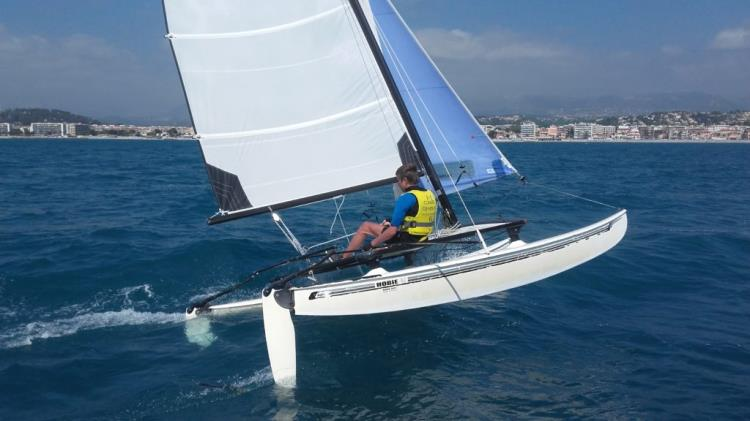 Stage Hobie Cat 14 - Avril 2018