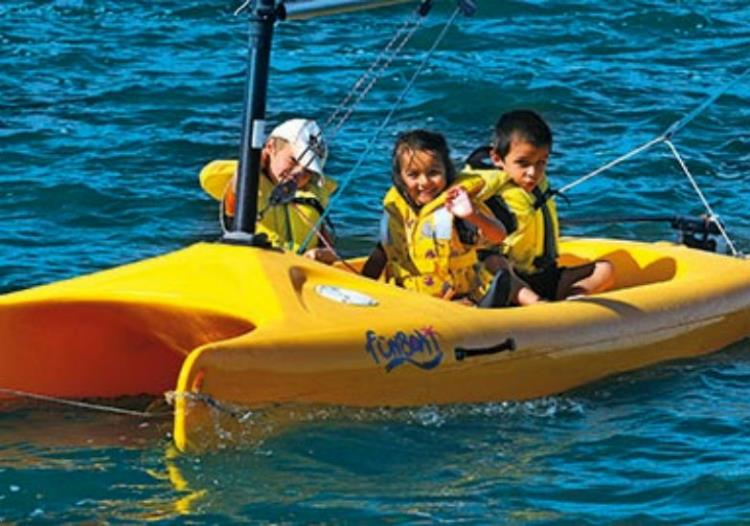 Stage 5j Opti-funboat 7/10 ans