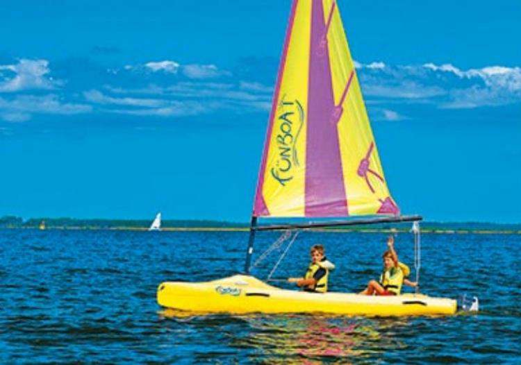 Séance Catamaran FunBoat 5/10 ans