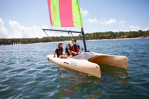 Séance Catamaran FunBoat 7/12 ans