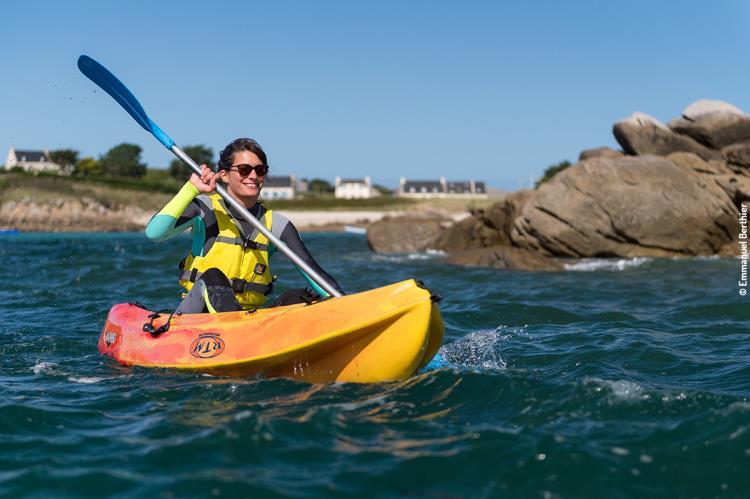Location d'un kayak pour une demi heure