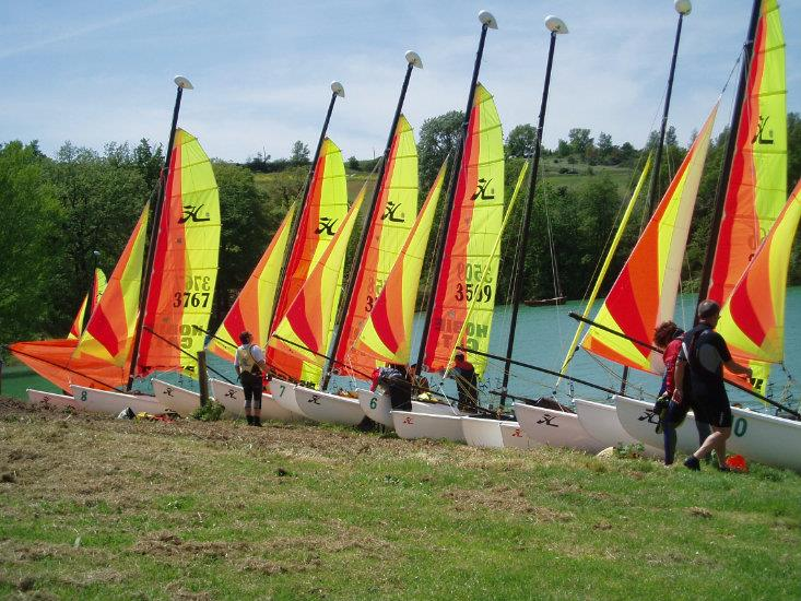 Ecole de club catamaran jeune