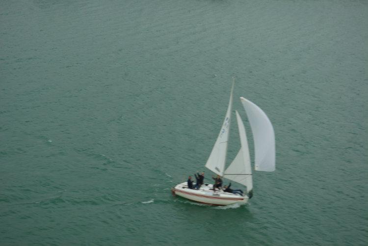Mise à l'eau journée bateau