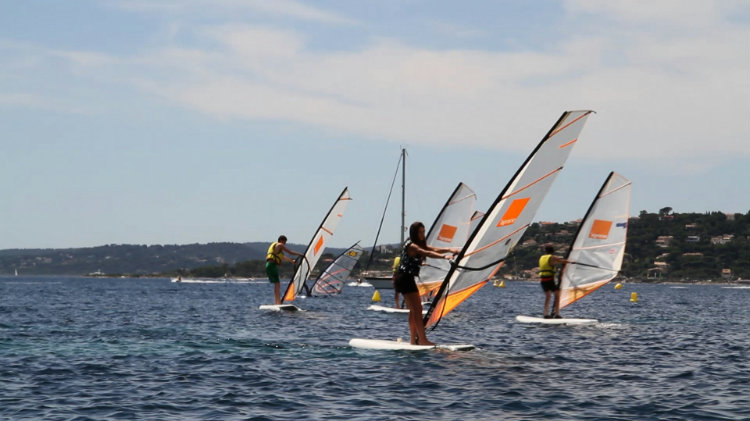STAGE PLANCHE A VOILE DEBUTANT