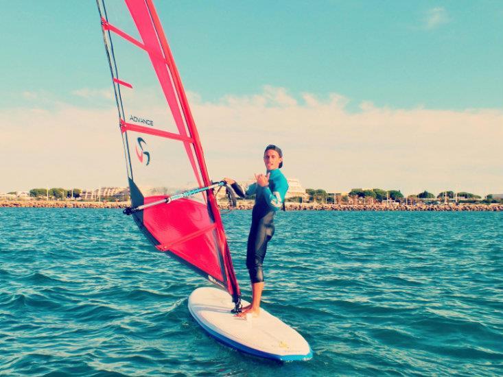 Windsurf-débutant Mi-Temps, 16ans+