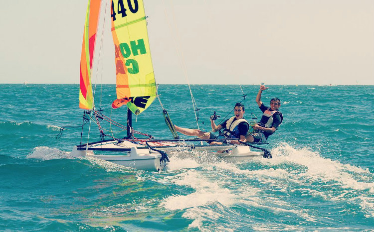 Catamaran-Avancé, 16ans+
