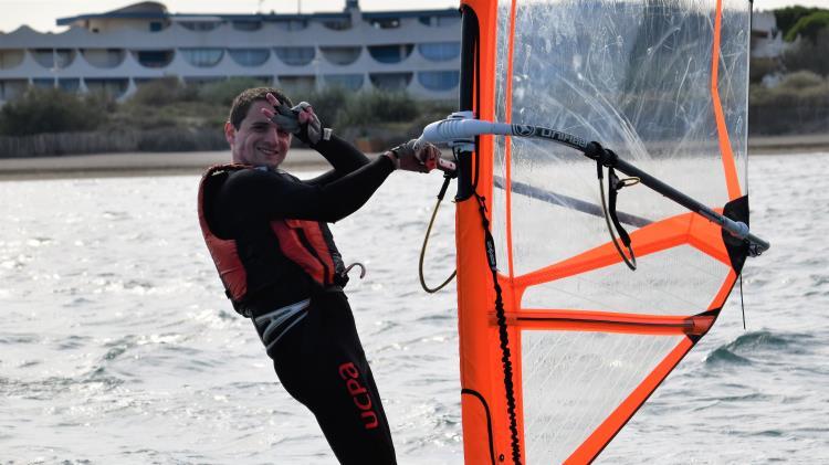 Windsurf-débutant, Ecole de Mer