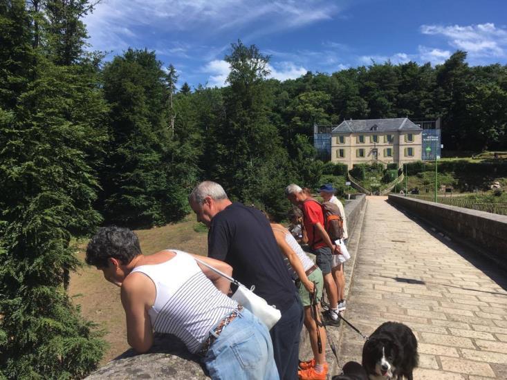 Visite du barrage des Settons