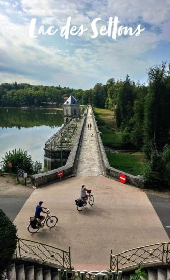 Visite estivale barrage Settons 2020