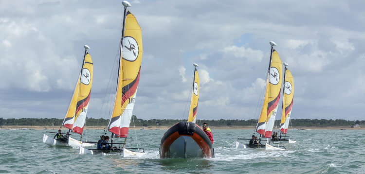 Catamaran Junior - 5 Séances - Automne 2017