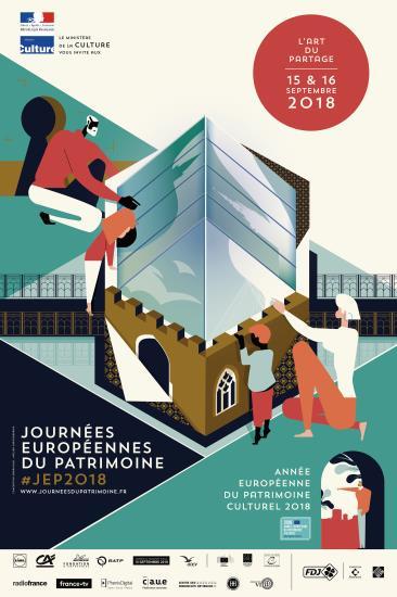 Journées européennes du Patrimoine   visites - spectacles - rencontres   15 & 16 septembre 2018
