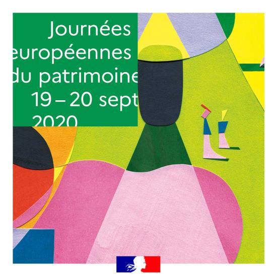 Journées européennes du Patrimoine | visites - spectacles - rencontres | 19 & 20 septembre 2020