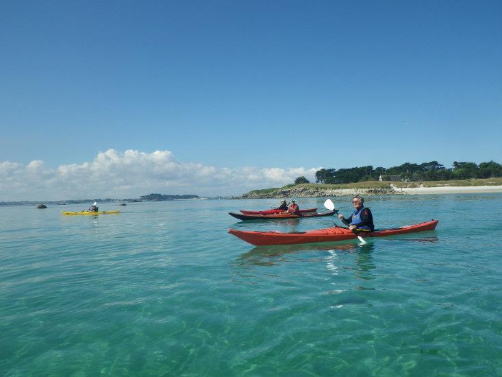 Balade nautique kayak de mer
