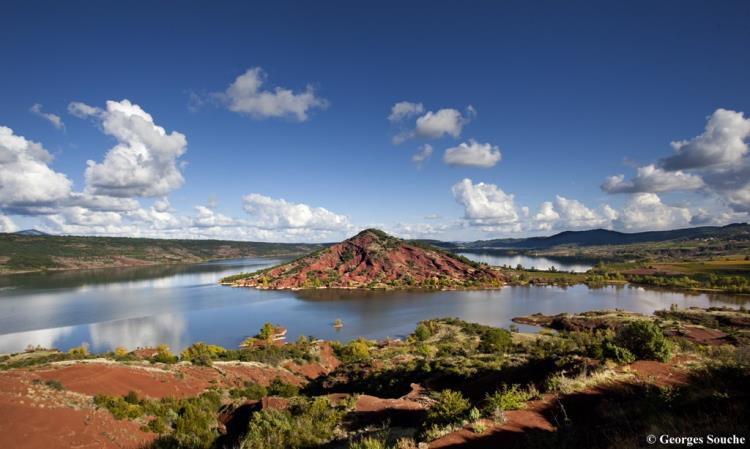 Groupes, programme demi-journée : Lac du Salagou
