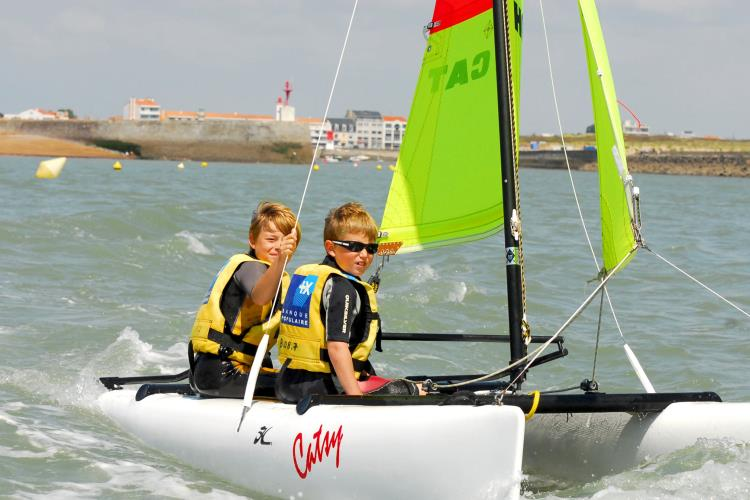 Catamaran Kid's Initiation 10h00/12h30 2019