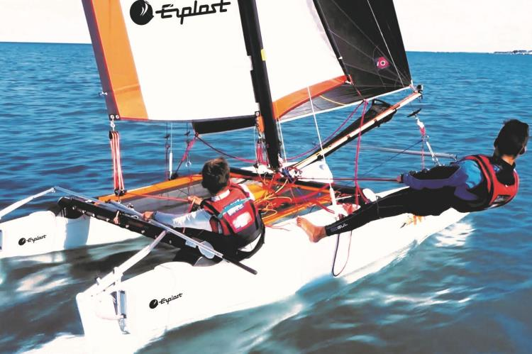Catamaran Junior Initiation10h00/12h30 2020
