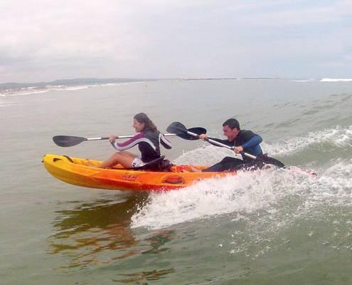 Kayak location 3 heures