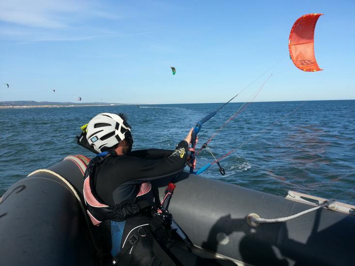 Kitesurf coaching mer 1 séance