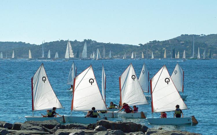 STAGE D'OPTIMIST INITIATION GROUPE 2