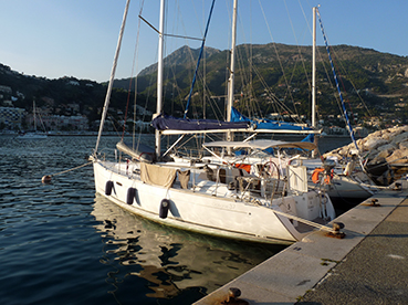 Navigation en Méditérranée ''Nice''