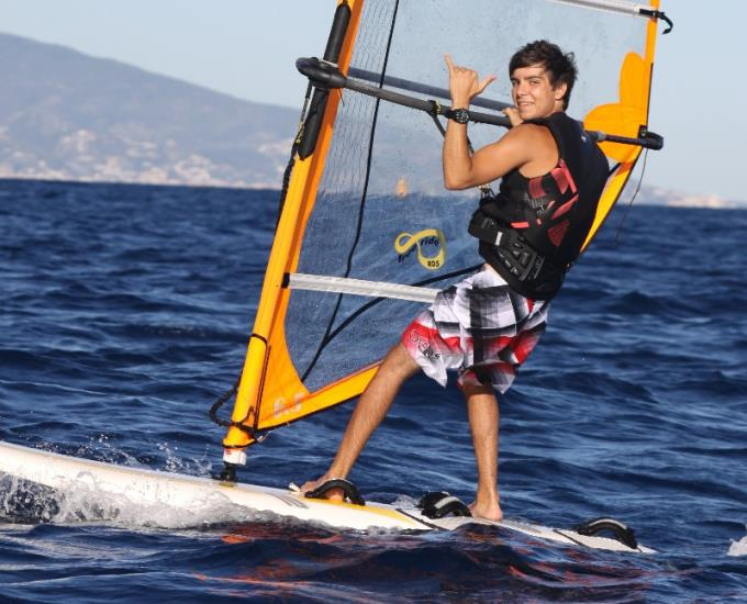 STAGE INITIATION WINDSURF