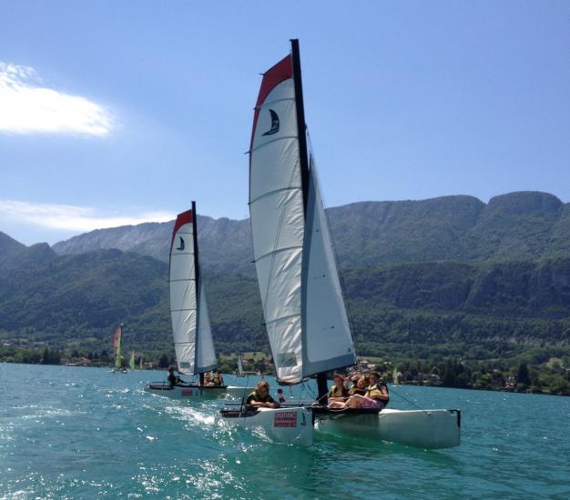 Mini- Stage Catamaran ( 2 jours : Lundi-Mardi ) 15h-17h