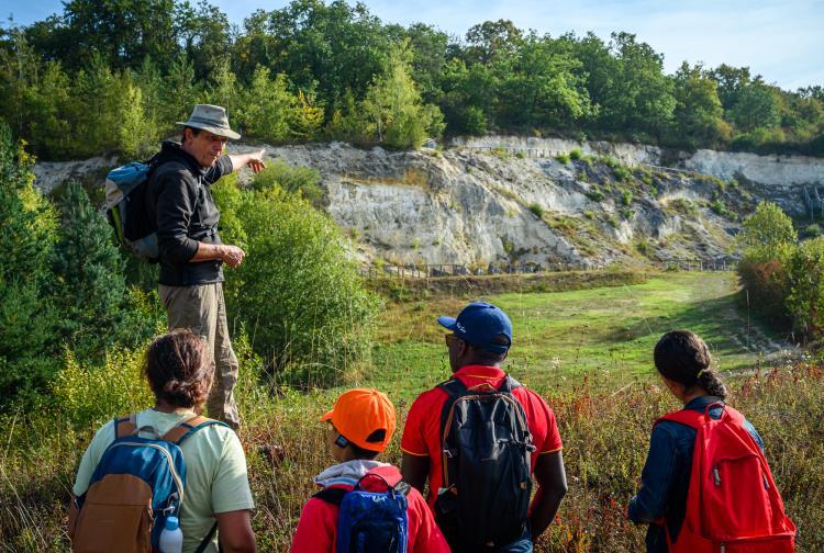 18/07 - Journée portes ouvertes à la Réserve Naturelle Régionale du Site géologique de Vigny-Longuesse