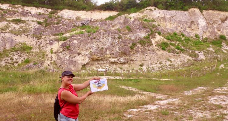 Enquête géologique à la carrière de Vigny