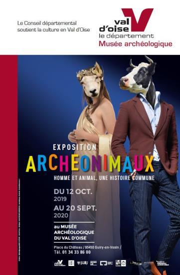 """Visite commentée exposition """"Archéonimaux"""" - Dimanche 10 novembre à 14h 30 et 16h"""