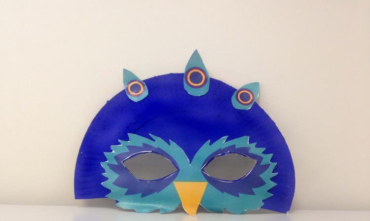 """Atelier enfant """"Transforme-toi en animal en créant ton masque""""  - 3-6 ans - vendredi 10 juillet 2020"""