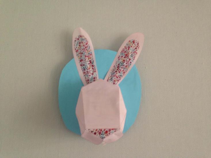 """Atelier enfant """"Fabrique une tête de lapin décorative"""" - 3-6 ans - vendredi 7 août 2020"""