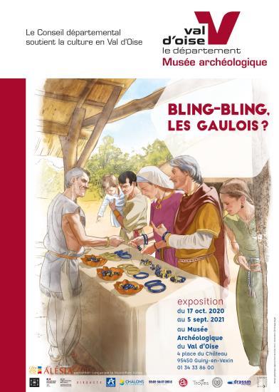 """Visite commentée de l'exposition temporaire """"Bling-bling, les Gaulois ?"""" - Dimanche 6 décembre 2020"""