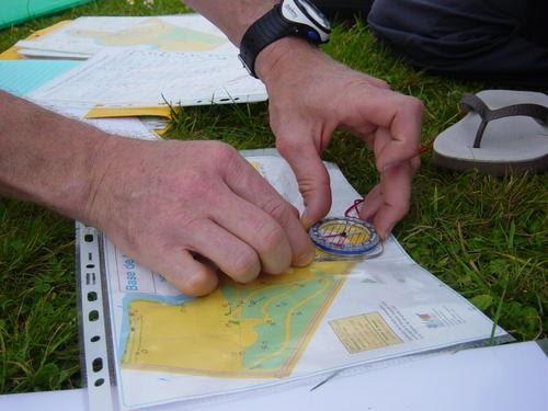 Course d'orientation au Parc Schlumberger