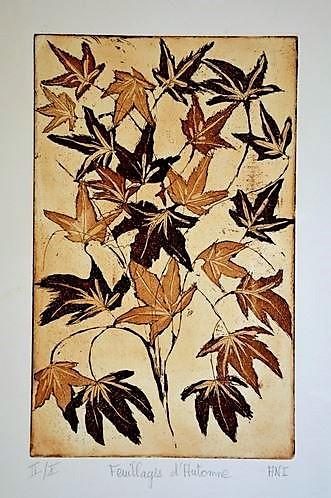 """Conférence """"L'art de la gravure ? Le motif végétal"""": 19 octobre"""