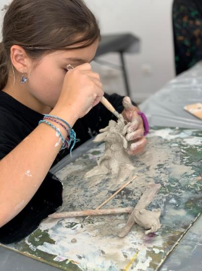 Ateliers de pratique artistique pour les enfants